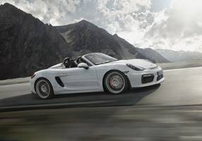 New York International Auto Show 2015: World premiere of the Boxster Spyder